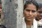 Maina, Age 14 : Last summer, this Lambadi tribal girl from Basheerabad was  pulled out of school, yelling and screaming, and married off to a 40-year-old. The man locked up his unwilling bride. After a traumatic sequence of escape and capture, a massive altercation at the railway station saw them both at the police station where her husband was locked up and she ended her marriage symbolically by snapping off her mangalsutra.