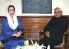 Cross-border openness: Benazir Bhutto with Prime Minister A.B. Vajpayee in 2003 in New Delhi