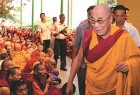 Is His Holiness violating his compact with India not to engage in politics?