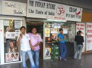 Not quite the taste of India: An Indian store at the Central Bus Station