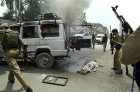 A tourist lies dead after the July 11 blasts in Srinagar