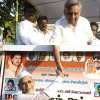 Remote sensing: Mani Shankar Aiyar campaigning in his constituency, where some see him as a distant figure