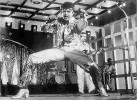Stage right: Mithun in <i>Disco Dancer</i>, one of his earliest hits