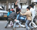 MNS activists beat up an SP worker at Shivaji Park on Feb 3