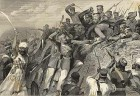 July 30, 1857 Rendition of the sepoys attacking at the Redan battery in Lucknow