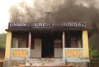 Fire trail: A VHP-torched church in Phulbani district