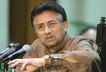 So What's Musharraf Playing At?