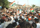 Hand over fist: An election campaign for Congress candidate Priya Dutt in progress