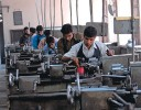 Assembly Fine:  Students being trained at Don Bosco technical institute, Delhi