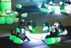 Gamers in California try out the Xbox 360. Launched in India last year, it has many gamers hooked on.